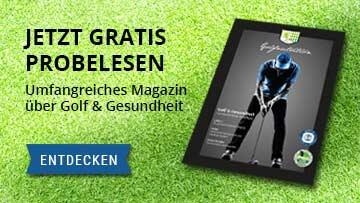 Kostenloses Golf-Magazin zum Thema Golf & Gesundheit